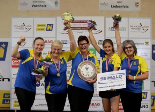 Staatsliga Damen Halbfinale 2021
