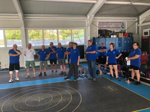 Gemeinschaftsturnier mit dem SSV Stockfalken Hohenau 14.07.2019